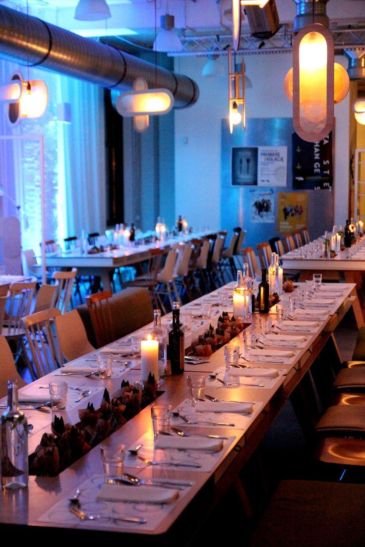 restaurant interior, new decoration, industrial