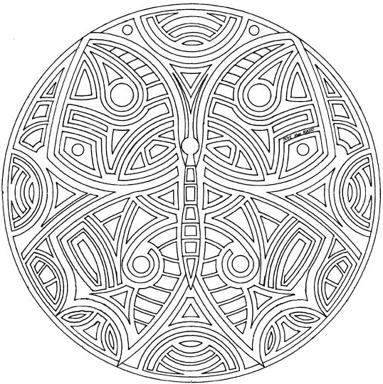 Detailed Coloring Pages For Adults | gallery coloringcrew com: Pattern ...