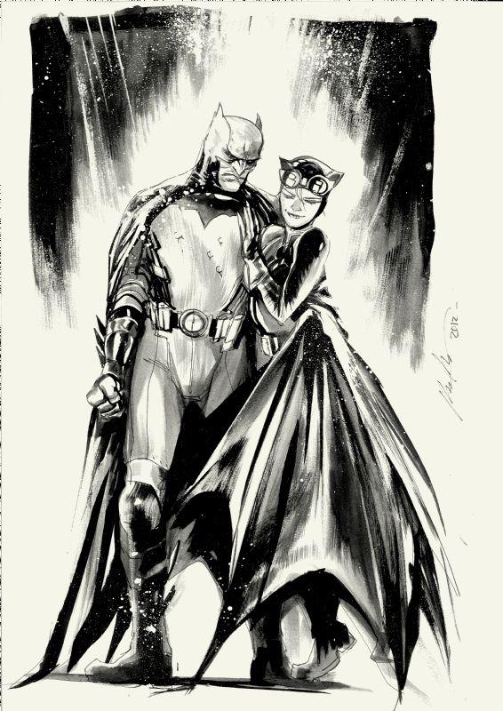 207 Best Images About Catwoman Art On Pinterest Batman