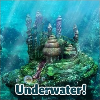 Underwater Mermaid Castle 53 best images about A...