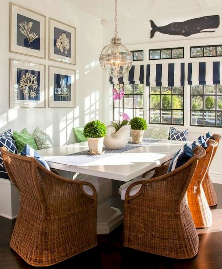65 Awesome Clean Coastal Living Room Decorating Ideas Dining