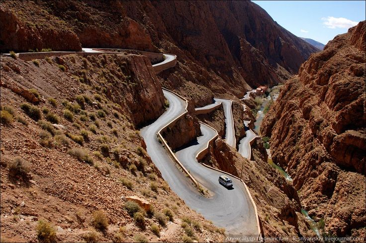 Canyon Bumalen Dodes, Morocco