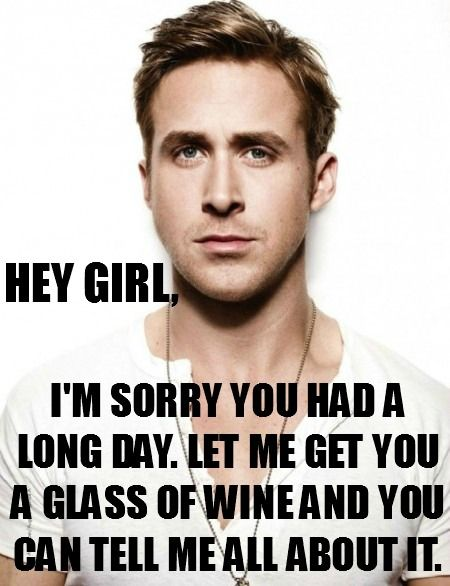 Ryan Gosling hey girl meme. Repinned from Vital Outburst clothing vitaloutburst.com
