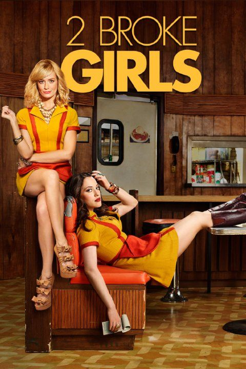 2 Broke Girls ~ Season 4 Poster (2015)