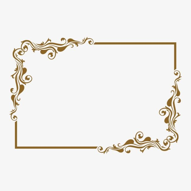 Classical Pattern Flower Frame Floral Poster Wedding Drawing