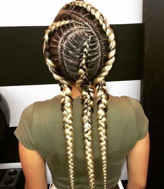 Best 25 braid extensions ideas on pinterest natural crochet 20 totally gorgeous ghana braids for an intricate hairdo pmusecretfo Image collections