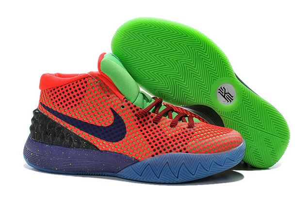 reputable site 18c5b 80592 Kyrie 1 Young What The Kyrie Kobe Bright Crimson Tour Yellow Dark Green Blue
