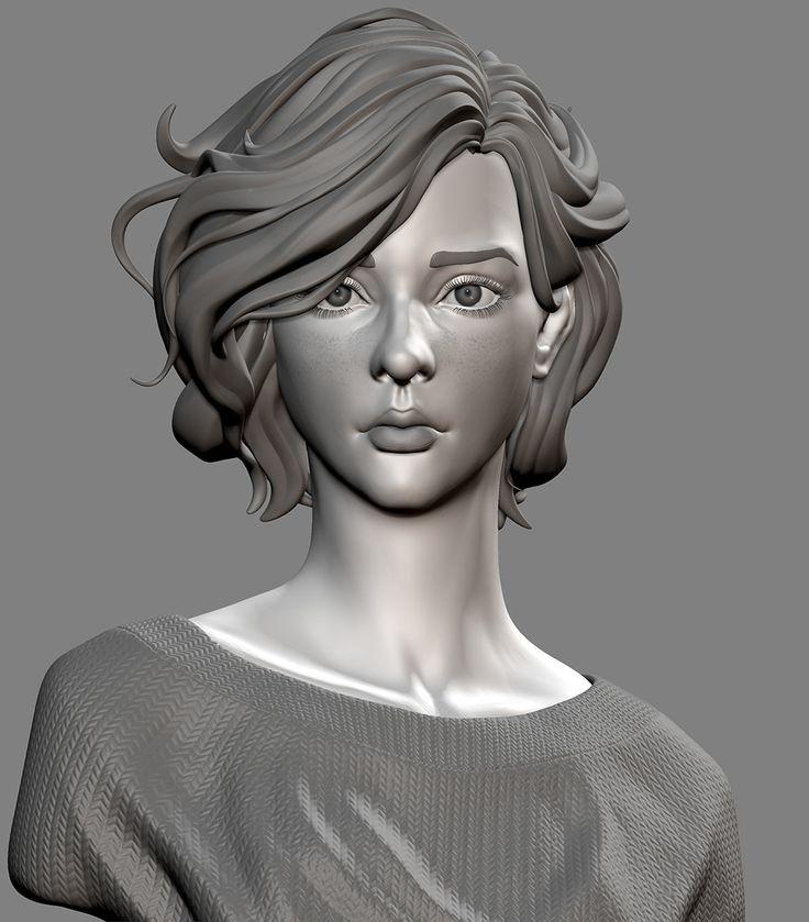 ArtStation - Portrait of Lelianna, DIXING SUN