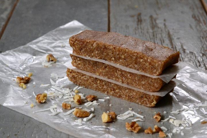 Coconut Protein Bar Recipe via @realfoodrecipes