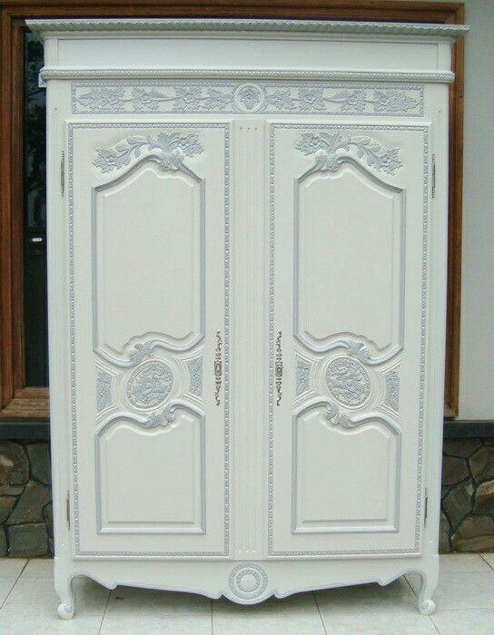 Modern White Wardrobe  [More info] Furnitur.id/index.php