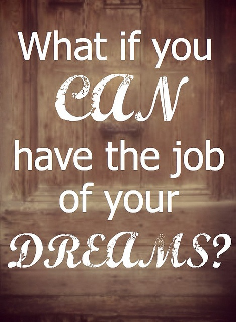 What if your dream job is closer than you think? @Deidra Riggs of @thehighcalling