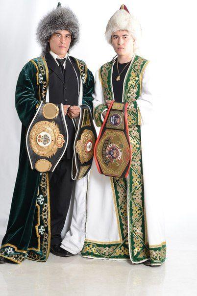 Khabir and Sabir Suleymanov - two twin boxing champions :)