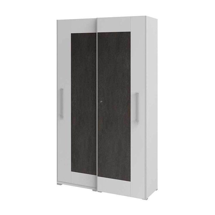 Schiebetüren Büroschrank in Weiß Grau abschließbar Jetzt bestellen unter: https://moebel.ladendirekt.de/wohnzimmer/schraenke/weitere-schraenke/?uid=16198ca6-643d-5b8e-a120-3ff249313889&utm_source=pinterest&utm_medium=pin&utm_campaign=boards #schraenke #büroschrank #büro #hängeschrank #aktenschrank #ordnerschrank #aktenordnerschrank #wohnzimmer #weitereschraenke #schrank