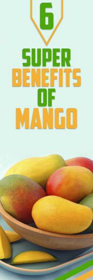 6 Super Benefits of Mango Mangoes are juicy and very delicious and have numerous healthy benefits you should know about. They belong to the anacardiaceous and are from