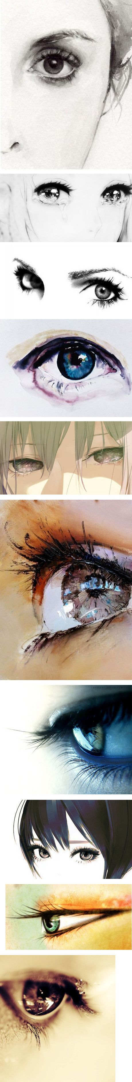 Water colour paintings