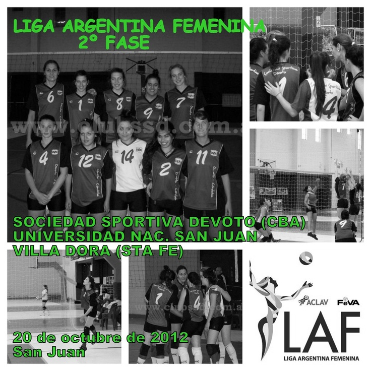 Este fin de semana todos tenemos que estar junto al equipo de Primera División de Sociedad Sportiva Devoto que estará participando de la 2º Fase de la Liga Argentina Femenina que se disputará en San Juan.