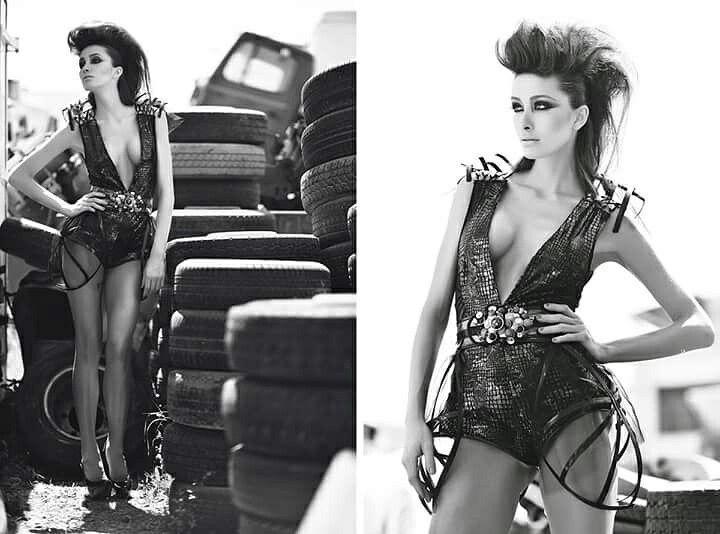Fashion designer :Aida Hanxhari  Photographer : Peny Giannakou  Model : Andreani Tsafou  Makeup : Vagelis Balakas  Hairstyle : Markella Bacha