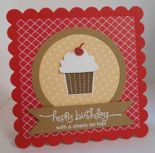 17 Best Images About Stampin Up Cupcake Punch Ideas And