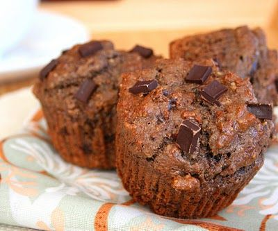 Double Chocolate Power Muffins (Low Carb and Gluten Free)   All Day I Dream About Food