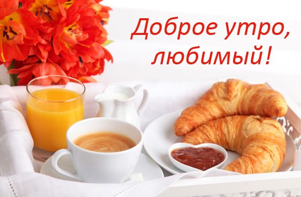 Марта, на телефон открытку доброе утро любимая