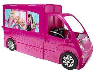 Barbie-Glam-Sisters-Getaway-Camper-Van-Free-Express-48-Shipping