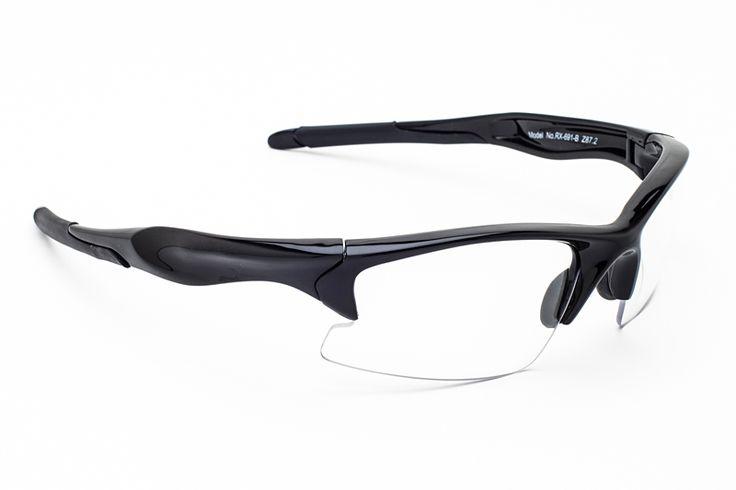 RX-691 Prescription Safety Frame, Wraparound,