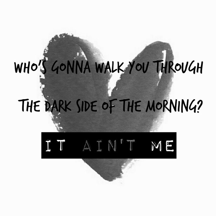 It Ain't Me - KYGO, Selena Gomez song lyrics