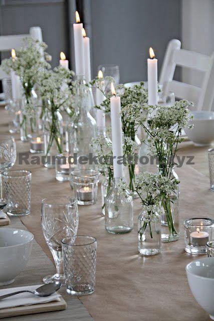 Tischdekoration Hochzeit – Canvas für den Sommer – 15 Tipps und Inspirationen für einen schönen Partytisch   – Tischdeko hochzeit