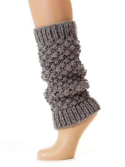 Alpaca Legwarmers Knitting Pattern from Toft Alpaca Shop UK