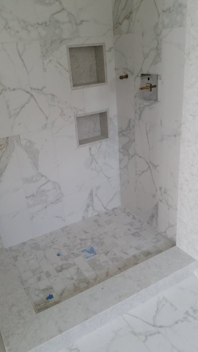 Feast Your Eyes On Marble Look Porcelain Tile Marble Tile Bathroom Marble Showers Bathroom Tile Designs