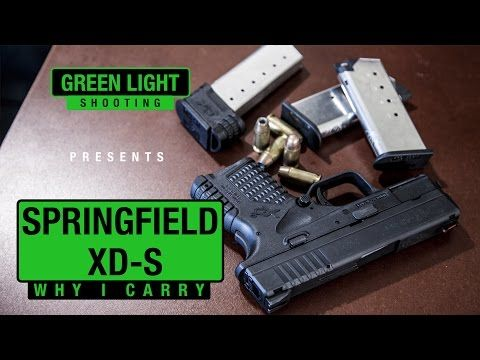 Springfield XDS Review - Why I Concealed Carry It - YouTube