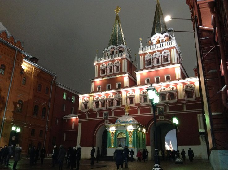 The Resurrection Gate, entrance Red Square