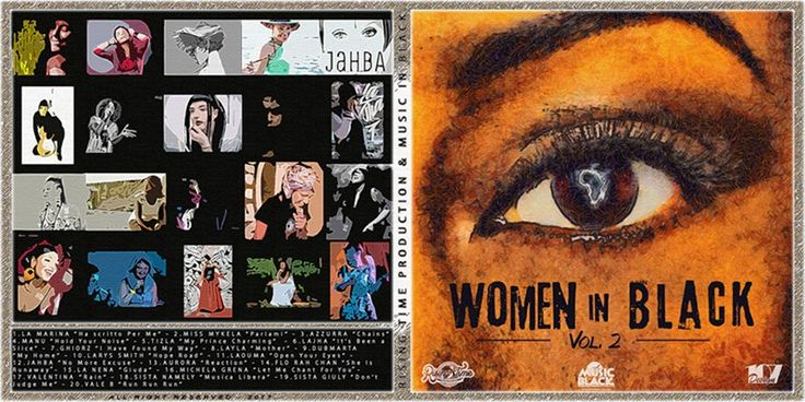 Esce la compilation Women in Black Vol. 2, disponibile su tutti i digital store - Reggae.it v4