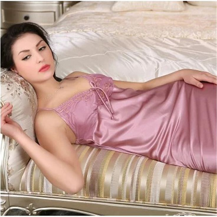 11 Color Nightgowns Women Summer Sexy Sleepwear Silk Satin Ladies Night Suits Women Lounge Mini Nightdress Sleepshirts > Nice plus size clothing shop for everybody