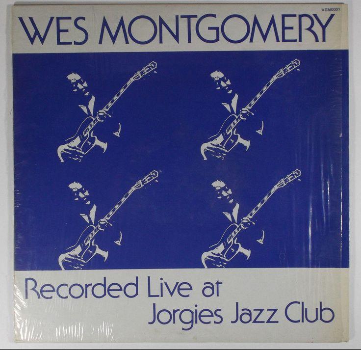 Wes Montgomery Recorded Live at Jorgies Jazz Club Vinyl Record LP NM #ContemporaryJazzCool