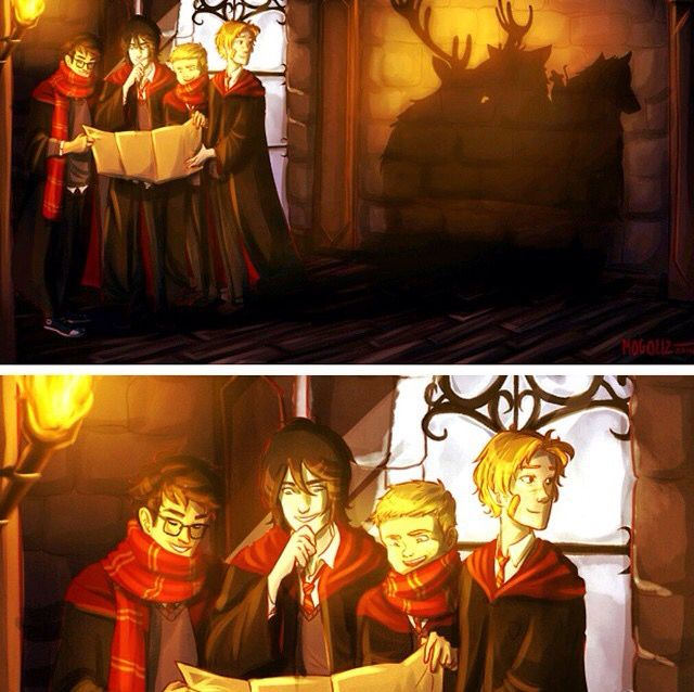 Image result for marauders harry potter fan art