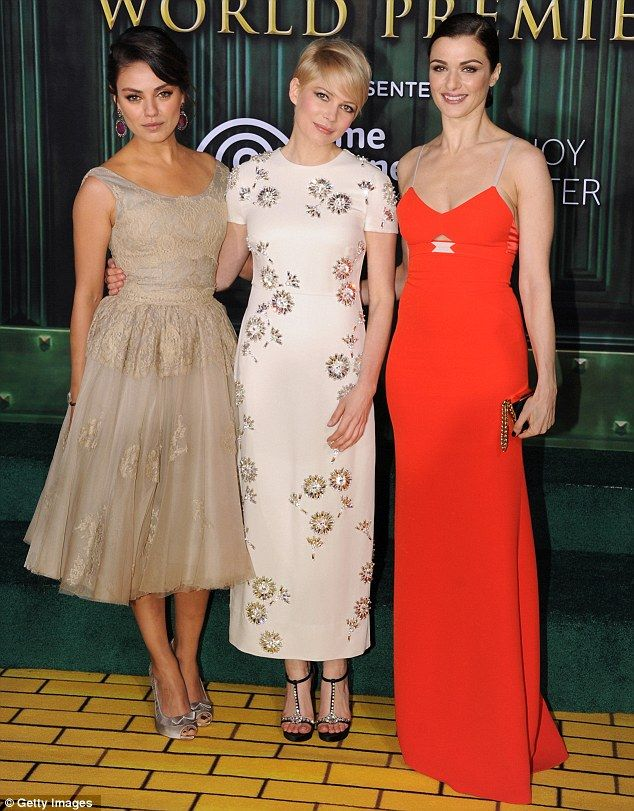 Mila Kunis, Michelle Williams and Rachel Weisz - The Great and Powerful Oz
