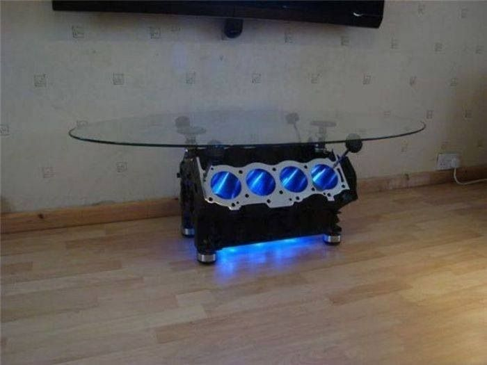 Engine coffee table. :) - 11 Best Images About Engine Table On Pinterest Inspiration, Chic