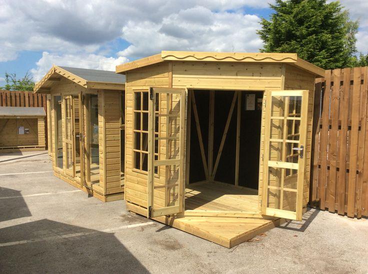 Solid sheds display at Rivendell Garden Centre
