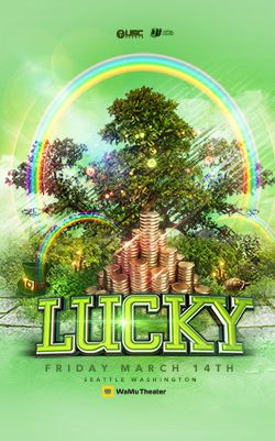 Lucky - edm festival Seattle -  music festival - march 14