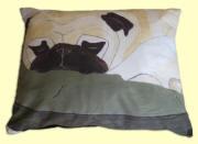 Pug Notes Pillow: Notes Pillow, Pugs, Pug Notes, Pillows