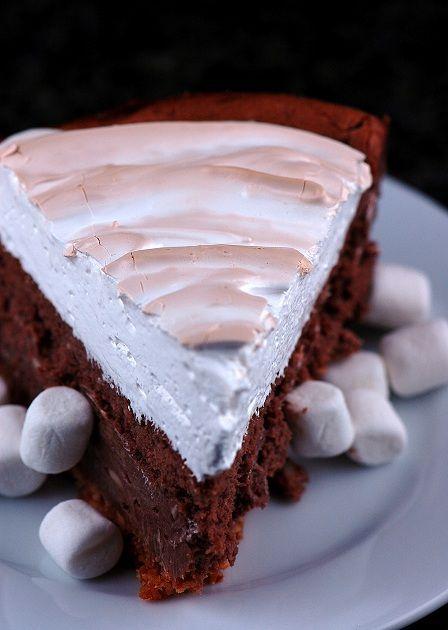 mores Cheesecake. | The Joy of Cakes | Pinterest