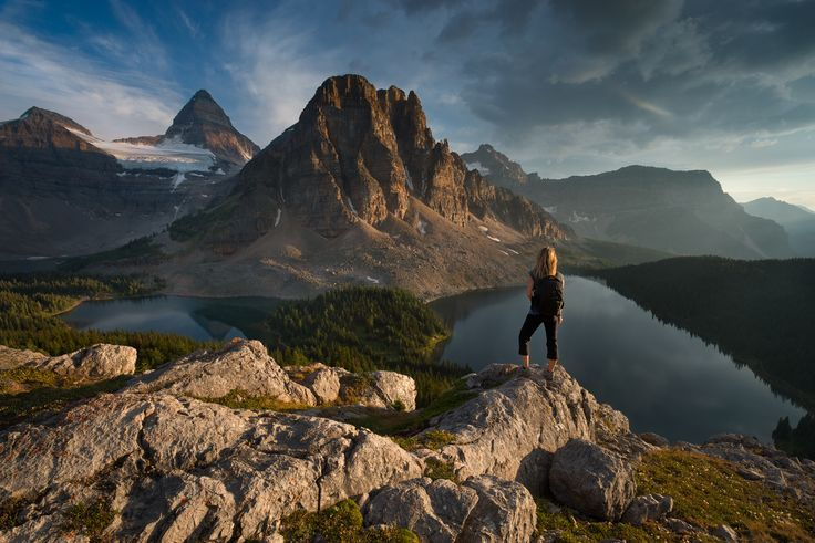 """Last light at the Niblet - Taking in the beauty of Assiniboine before sunset and the day of rain that followed  My <a href=""""https://www.facebook.com/pages/Viktoria-Haack-Photography/116186781787512?pnref=lhc""""> facebook </a> and <a href=""""https://instagram.com/viktoriahaack/""""> instagram </a>"""