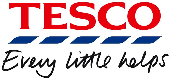 Tesco logo + strapline *Loved these stores in Norwich and London :)
