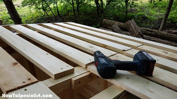 how to build an outhouse step by step