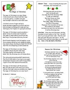 Wood Christmas Tree Advent Calendar with Stories – Tip Junkie Printables