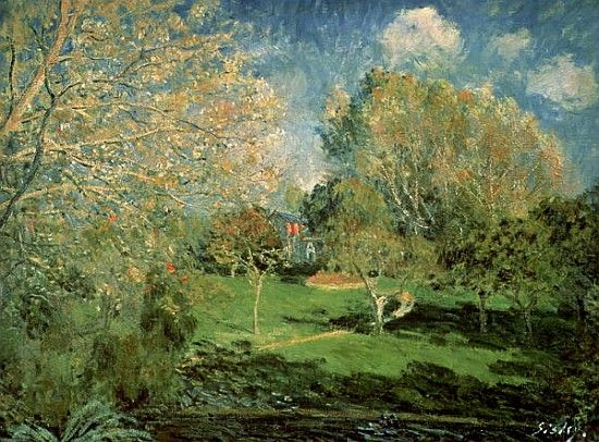 Alfred Sisley Family | Bild: Alfred Sisley - The Garden of Hoschede Family