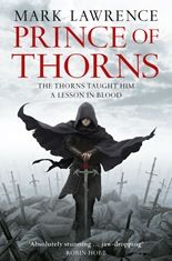 Prince of Thorns book cover bit of a tough read but well worth it
