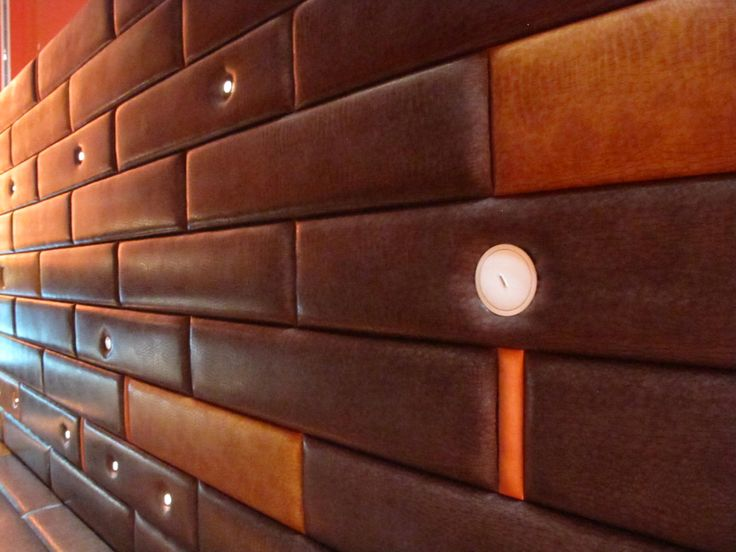 Leather Wall Panels Could Make A Headboard With This