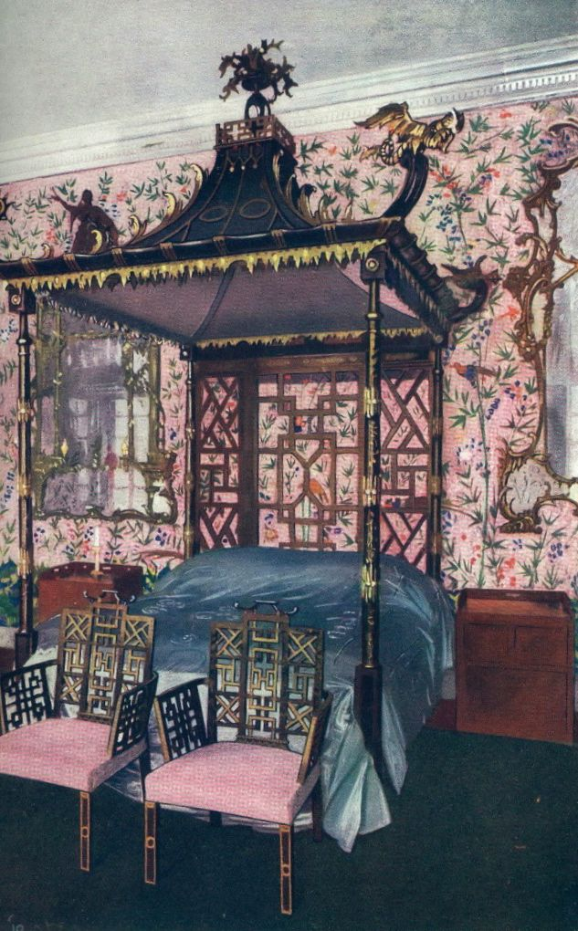 Chinese Bedroom Grandeur (anyone know where this is?)